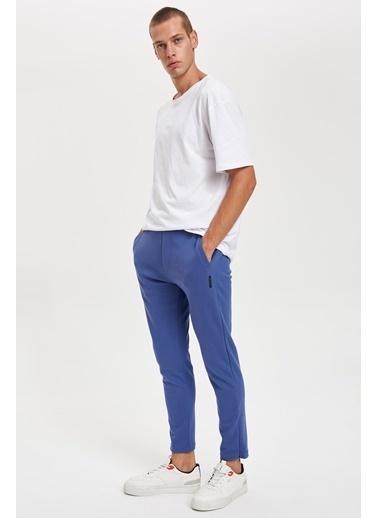 DeFacto Slim Fit Eşofman Altı Mavi